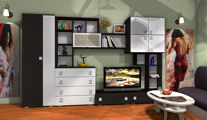 мебель для гостиной выбрать недорого
