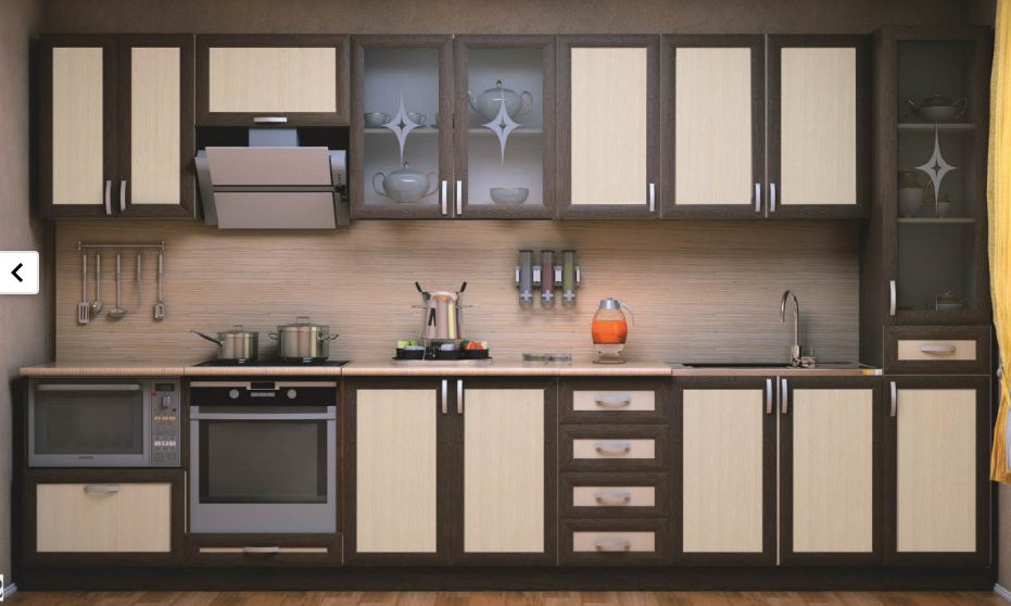 Кухня модульная выбрать