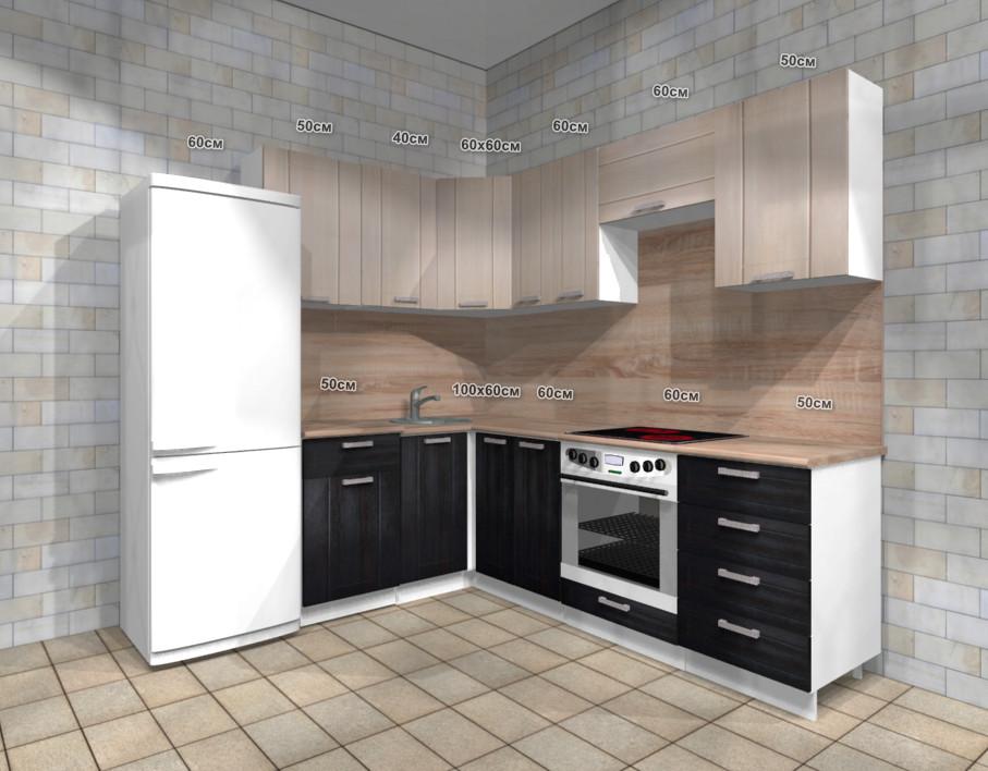 Проект кухни модульной