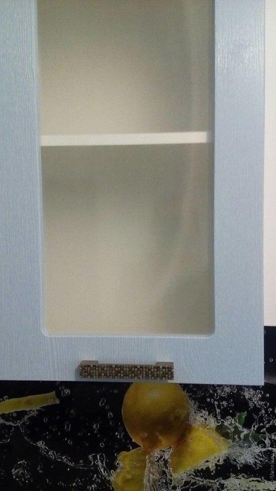 Кухня со стеклом фото