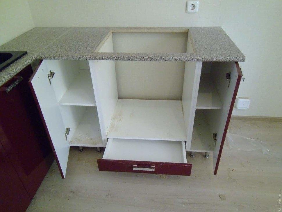 Кухонный гарнитур наполнение модулей