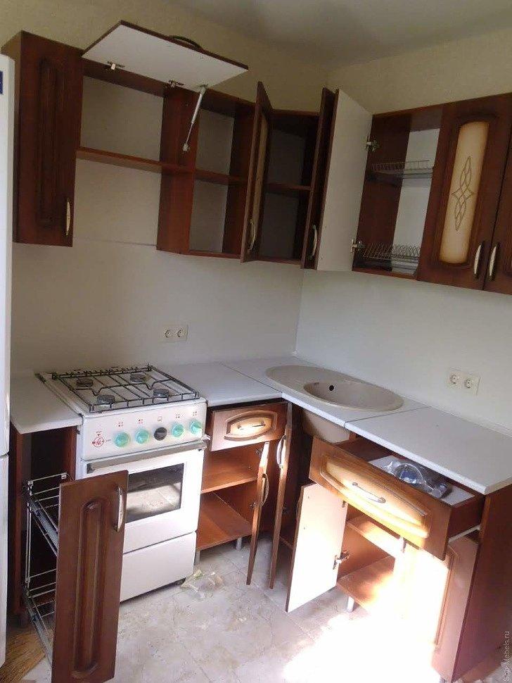 Кухня Троя фото клиента